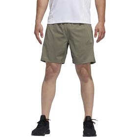 adidas Aeroready 3 Stripes Shorts Men legacy green